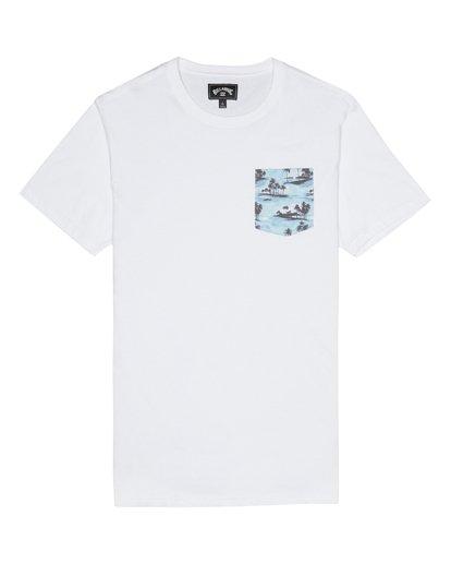 2 Allday Printed - T-Shirt für Herren Weiss S1JE16BIP0 Billabong