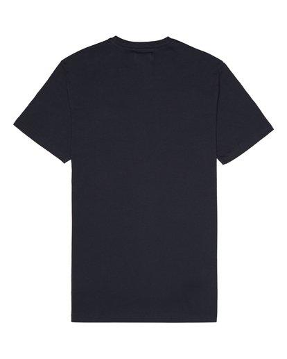 3 Allday Printed - Camiseta para Hombre Azul S1JE16BIP0 Billabong