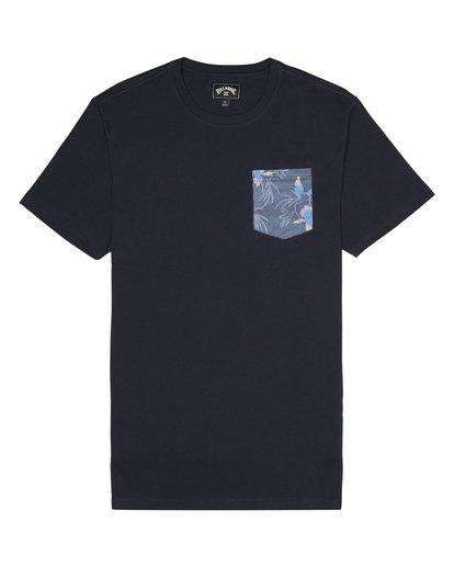 2 Allday Printed - Camiseta para Hombre Azul S1JE16BIP0 Billabong