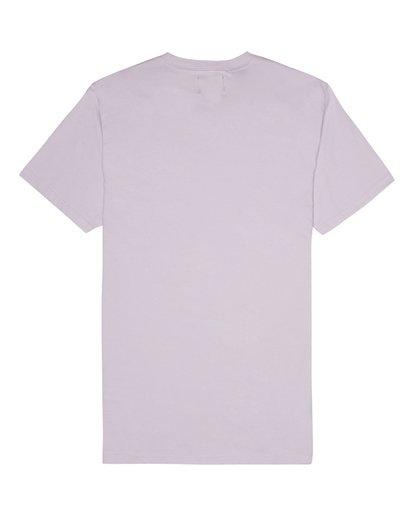 3 Allday Printed - Camiseta para Hombre Violeta S1JE16BIP0 Billabong