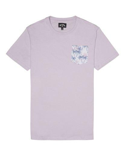 2 Allday Printed - Camiseta para Hombre Violeta S1JE16BIP0 Billabong