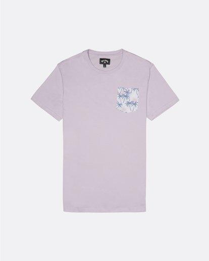 0 Allday Printed - T-Shirt für Herren Violett S1JE16BIP0 Billabong