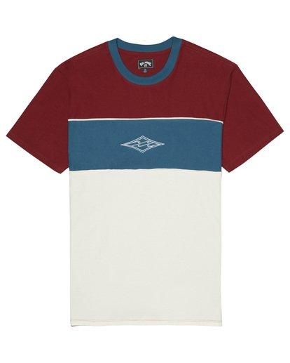 2 Bender - T-Shirt for Men Red S1JE20BIP0 Billabong