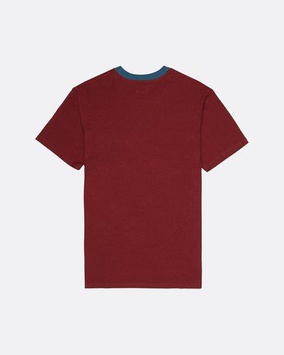 1 Bender - T-Shirt for Men Red S1JE20BIP0 Billabong