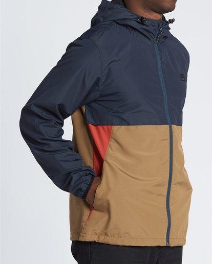 3 Transport Windbreaker - Windbreaker-Jacke für Herren Blau S1JK01BIP0 Billabong