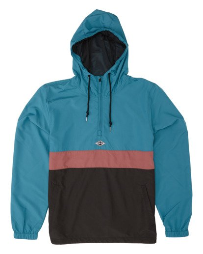 4 Wind Swell Anorak - Jacke für Herren Schwarz S1JK03BIP0 Billabong