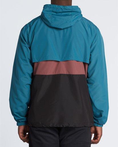 1 Wind Swell Anorak - Jacke für Herren Schwarz S1JK03BIP0 Billabong