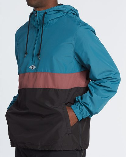 2 Wind Swell Anorak - Jacke für Herren Schwarz S1JK03BIP0 Billabong