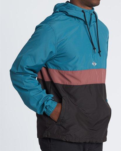 3 Wind Swell Anorak - Jacke für Herren Schwarz S1JK03BIP0 Billabong