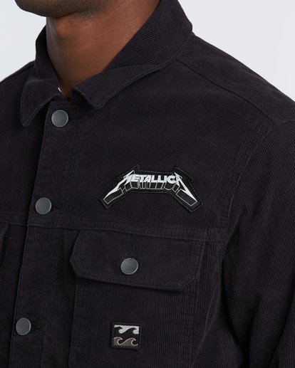 4 AI Metallica - Jacket for Men Negro S1JK34BIP0 Billabong