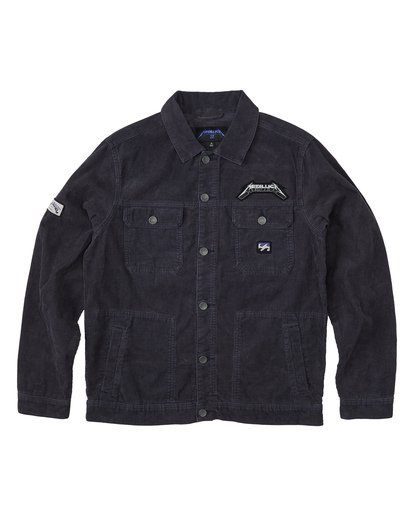 6 Ride The Lightning - Corduroy Jacket for Men Blue S1JK35BIP0 Billabong