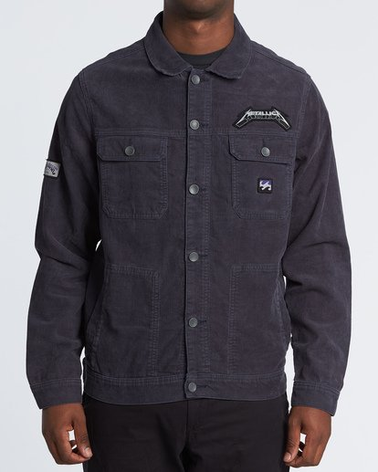 0 Ride The Lightning - Corduroy Jacket for Men Blue S1JK35BIP0 Billabong