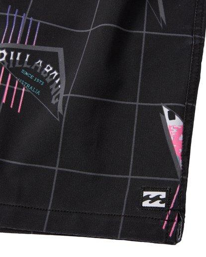 """7 Sundays Pigment Laybacks 17"""" - Boardshort à taille élastique pour Homme Noir S1LB02BIP0 Billabong"""