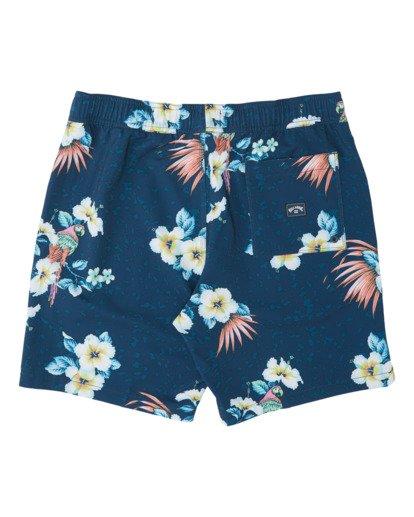 "3 Sundays Stretch Laybacks 16"" - Board Shorts for Men Blue S1LB03BIP0 Billabong"