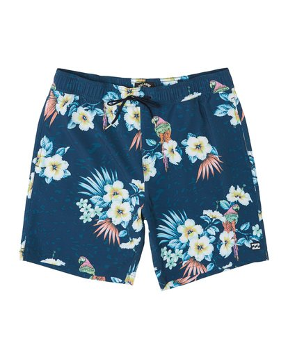 "2 Sundays Stretch Laybacks 16"" - Board Shorts for Men Blue S1LB03BIP0 Billabong"