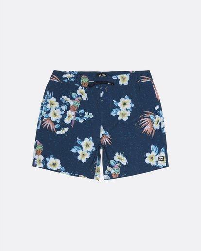 "0 Sundays Stretch Laybacks 16"" - Board Shorts for Men Blue S1LB03BIP0 Billabong"