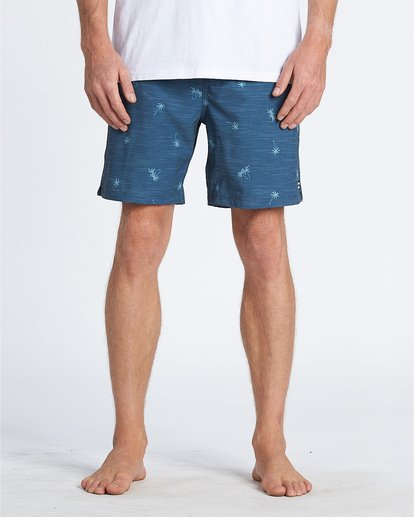 "9 Sundays Stretch Laybacks 16"" - Boardshorts für Herren Violett S1LB03BIP0 Billabong"
