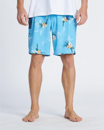 "9 Sundays Laybacks 16"" - Board Shorts for Men Blue S1LB04BIP0 Billabong"
