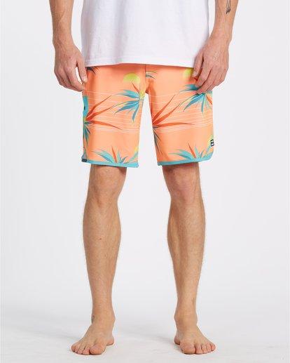 """8 Sundays Laybacks 16"""" - Bañador de surf de pantalón para Hombre Multicolor S1LB04BIP0 Billabong"""
