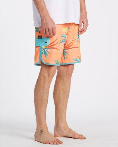 """11 Sundays Laybacks 16"""" - Bañador de surf de pantalón para Hombre Multicolor S1LB04BIP0 Billabong"""