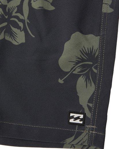 """7 Sundays Intrchng Laybacks 17"""" - Boardshort à taille élastique pour Homme Camo S1LB05BIP0 Billabong"""
