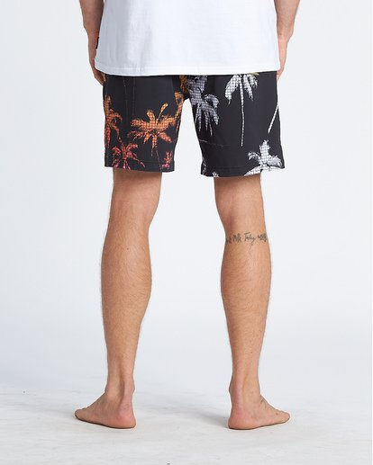 """5 Sundays Intrchng Laybacks 17"""" - Bañador de surf de pantalón con cintura elástica para Hombre Azul S1LB05BIP0 Billabong"""