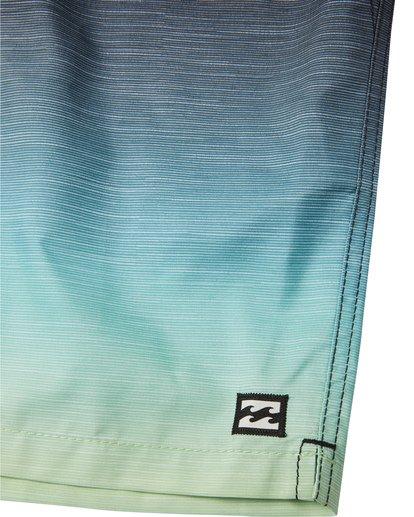 "5 All Day Faded Laybacks 16"" - Board Shorts for Men Yellow S1LB09BIP0 Billabong"