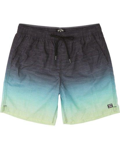 "0 All Day Faded Laybacks 16"" - Board Shorts for Men Yellow S1LB09BIP0 Billabong"