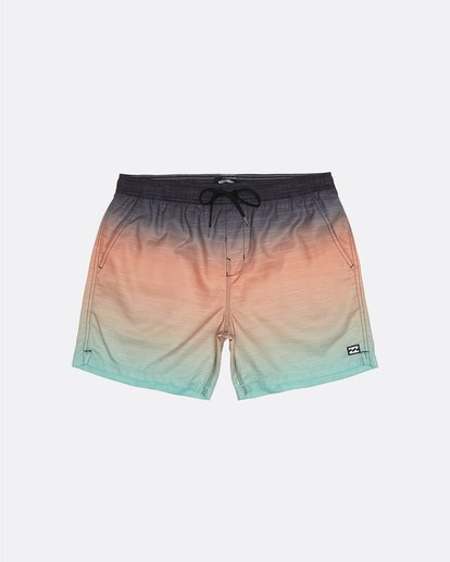 "2 All Day Faded Laybacks 16"" - Board Shorts for Men Green S1LB09BIP0 Billabong"