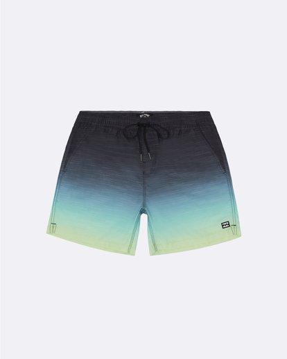 "10 All Day Faded Laybacks 16"" - Board Shorts for Men Yellow S1LB09BIP0 Billabong"