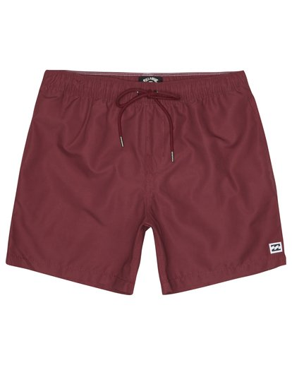 "2 All Day Laybacks 16"" - Board Shorts for Men Red S1LB12BIP0 Billabong"