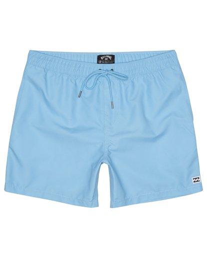 "2 All Day Laybacks 16"" - Board Shorts for Men Blue S1LB12BIP0 Billabong"
