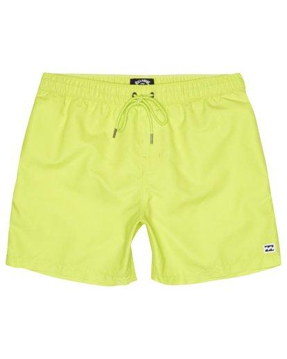 """2 All Day Laybacks 16"""" - Board Shorts for Men Yellow S1LB12BIP0 Billabong"""