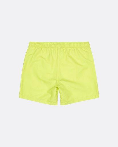 """1 All Day Laybacks 16"""" - Board Shorts for Men Yellow S1LB12BIP0 Billabong"""
