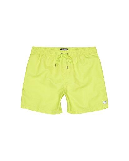 """0 All Day Laybacks 16"""" - Board Shorts for Men Yellow S1LB12BIP0 Billabong"""