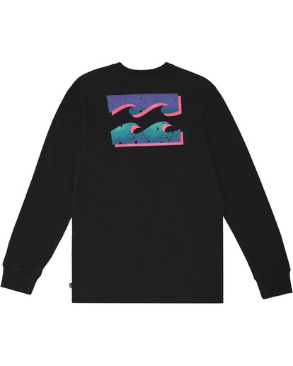 3 Warchild - Long Sleeve T-Shirt for Men Black S1LS11BIP0 Billabong