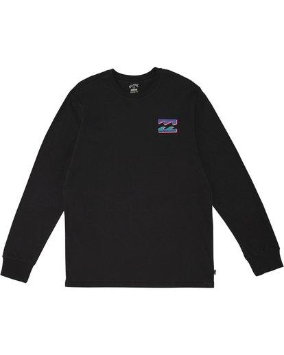 2 Warchild - Long Sleeve T-Shirt for Men Black S1LS11BIP0 Billabong