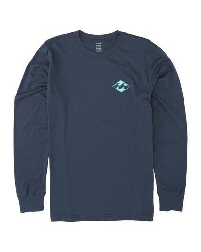 2 Warchild - Long Sleeve T-Shirt for Men Blue S1LS11BIP0 Billabong