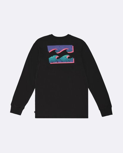 1 Warchild - Long Sleeve T-Shirt for Men Black S1LS11BIP0 Billabong