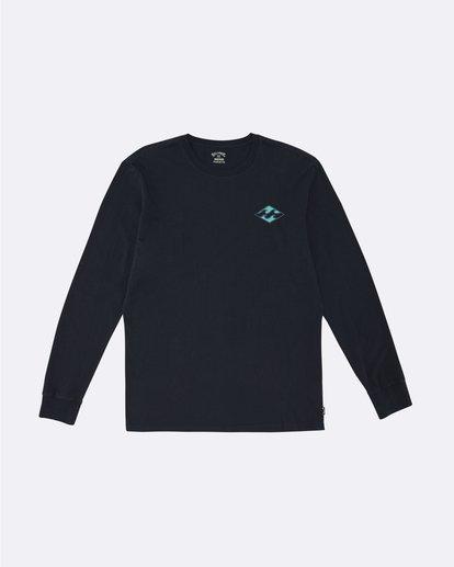 0 Warchild - Long Sleeve T-Shirt for Men Blue S1LS11BIP0 Billabong