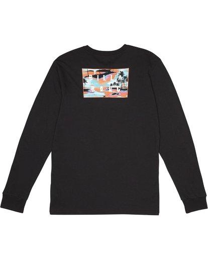 1 Die Cut - T-Shirt manches longues pour Homme Noir S1LS12BIP0 Billabong