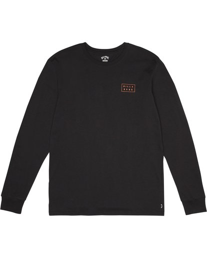 0 Die Cut - T-Shirt manches longues pour Homme Noir S1LS12BIP0 Billabong