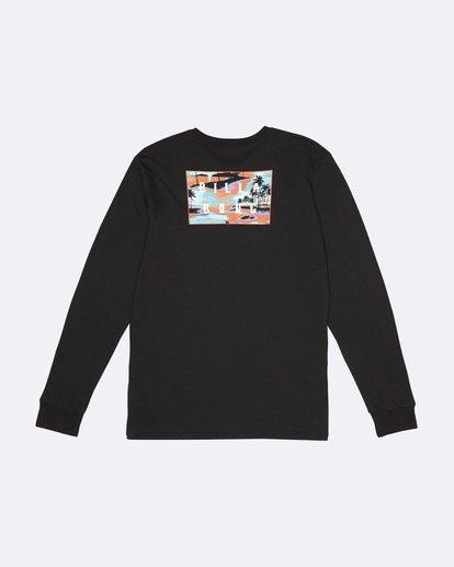 3 Die Cut - T-Shirt manches longues pour Homme Noir S1LS12BIP0 Billabong