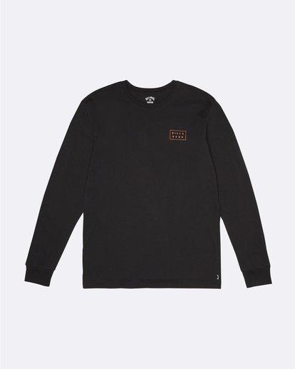 2 Die Cut - T-Shirt manches longues pour Homme Noir S1LS12BIP0 Billabong