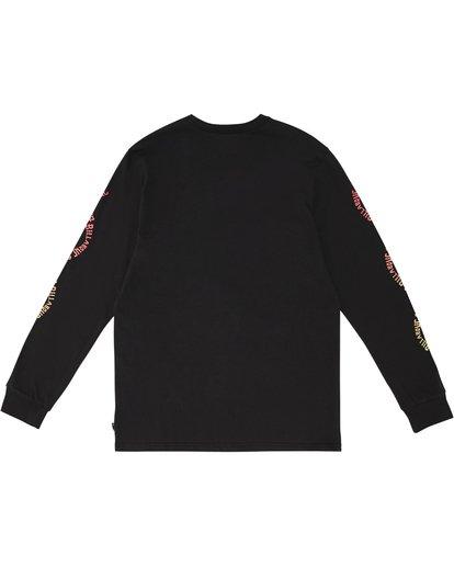 3 Arch - Camiseta de manga larga para Hombre Negro S1LS14BIP0 Billabong
