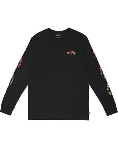 2 Arch - Camiseta de manga larga para Hombre Negro S1LS14BIP0 Billabong
