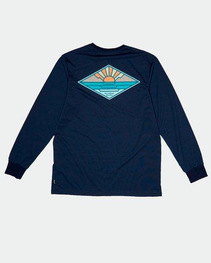 1 A Frame - Camiseta de manga larga para Hombre Azul S1LS17BIP0 Billabong