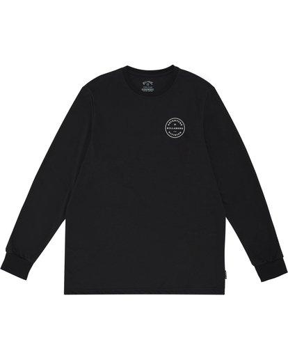 2 Rotor Adiv - Camiseta de manga larga para Hombre Negro S1LS18BIP0 Billabong