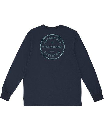3 Rotor Adiv - Camiseta de manga larga para Hombre Azul S1LS18BIP0 Billabong