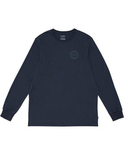 2 Rotor Adiv - Camiseta de manga larga para Hombre Azul S1LS18BIP0 Billabong